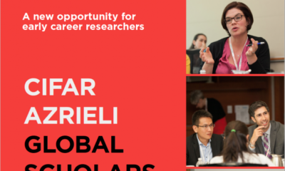 CIFAR Azrieli Global Scholars Program