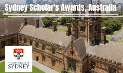 Sydney Scholar Awards